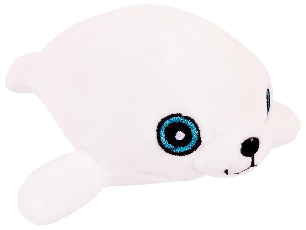 Купить Мягкая игрушка Abtoys Тюлень белый 13 см,