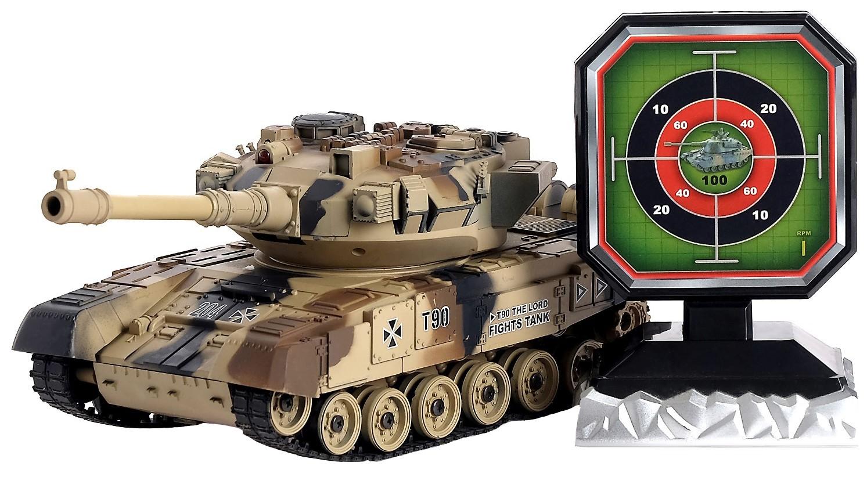 Танк радиоуправляемый «Т90», с аккумулятором, стреляет