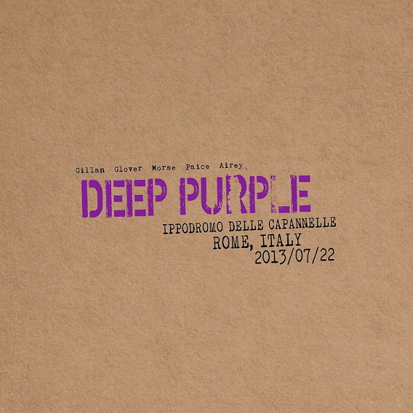 Deep Purple Live In Rome 2013 (Limited Edition)(2CD)