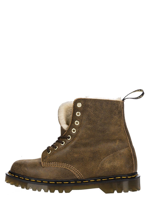 Ботинки мужские Dr. Martens 25271259 коричневые 44 RU фото