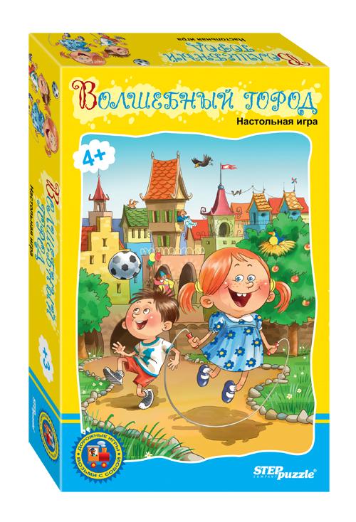 Купить Дорожная игра Step Puzzle Волшебный город, Семейные настольные игры