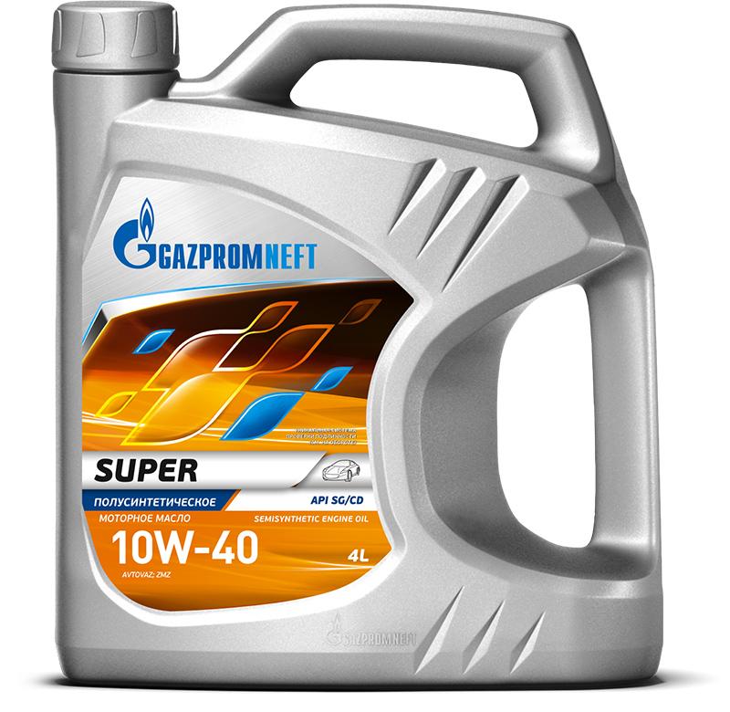 Моторное масло Gazpromneft Super 10W 40 4л