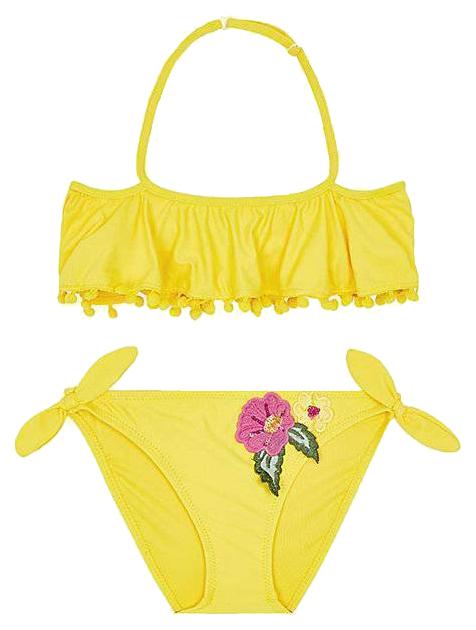 Купить Купальник Mayoral цвет желтый р.128, Детские купальники для бассейна