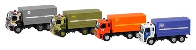 Купить Набор инерционных машинок Play Smart автопарк фургон 1:54 6555, PLAYSMART, Спецслужбы
