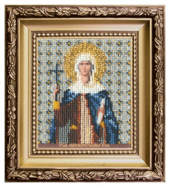 Вышивка бисером Чарiвна Мить Икона святой равноапостольной Нины Б-1144