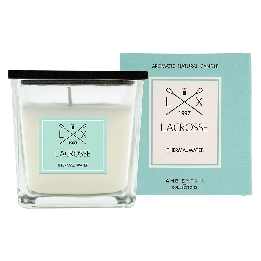Ароматическая свеча в стекле «Термальный источник» Lacrosse 8х8 см