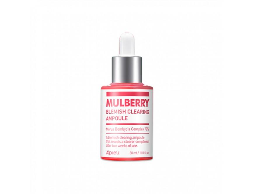 Сыворотка для проблемной кожи лица A'PIEU Mulberry Blemish Clearing Ampoule 30мл фото