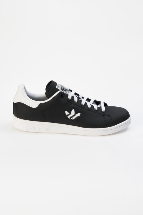 Кеды мужские Adidas STAN SMITH черные 40,5 RU фото