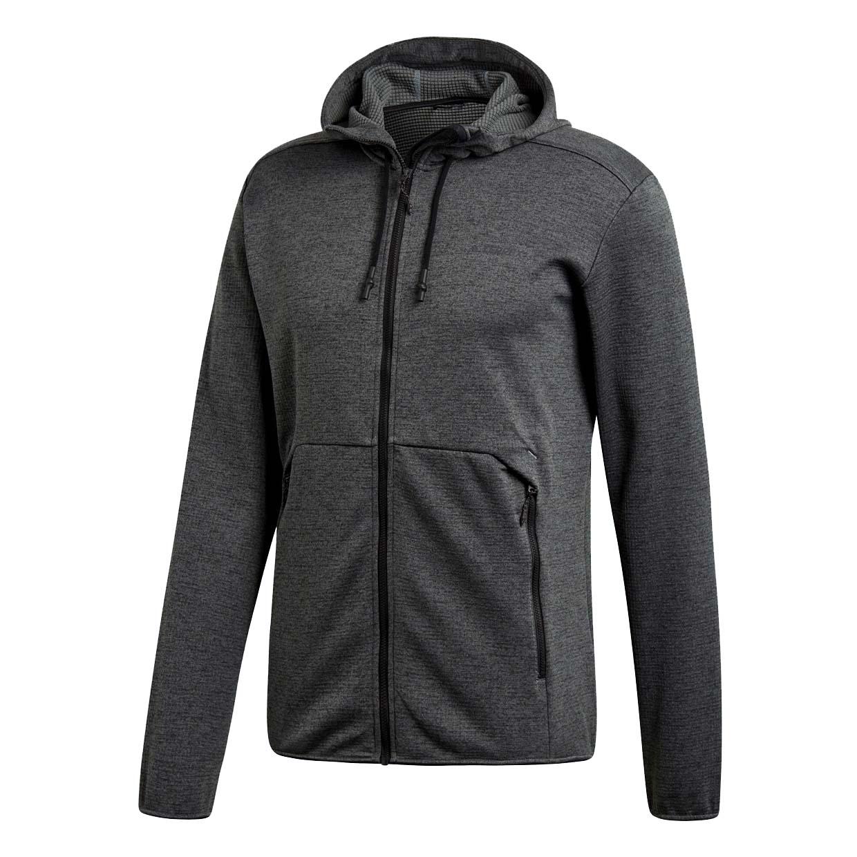 Толстовка Adidas Climb the City Hooded FZ, gray, 54 RU
