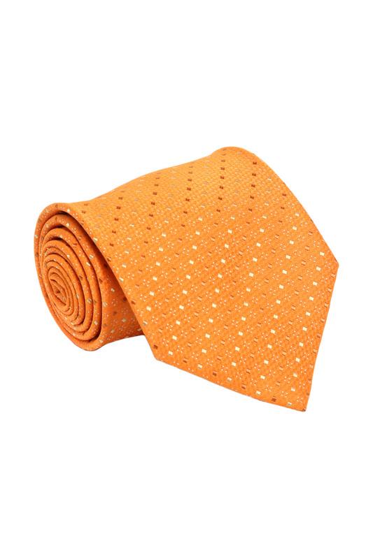 Галстук мужской Windsor 612 оранжевый