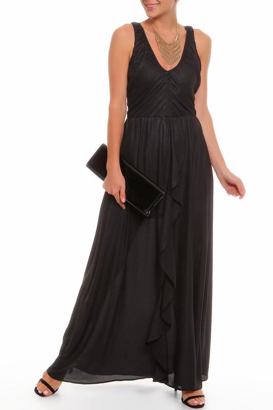 Платье женское PRIO 107880 черное 44-170.