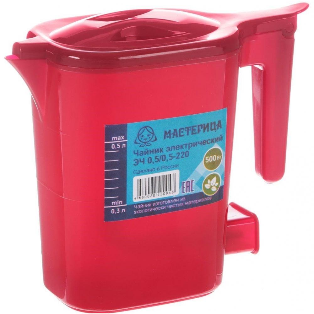 Чайник электрический Мастерица ЭЧ 0,5/0,5-220 Red