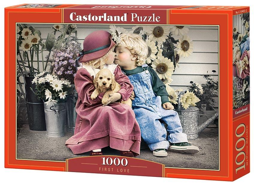 Пазл Castorland 1000 деталей Первая любовь C-104451