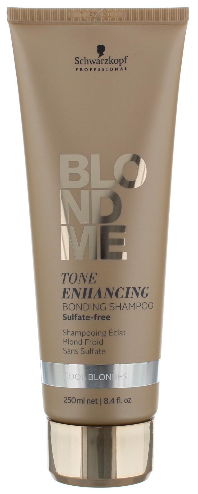 Купить Бондинг-Шампунь Schwarzkopf для холодных оттенков блонд 250 мл, BlondMe Tone Enhancing Bonding Shampoo Cool Blondes, Schwarzkopf Professional