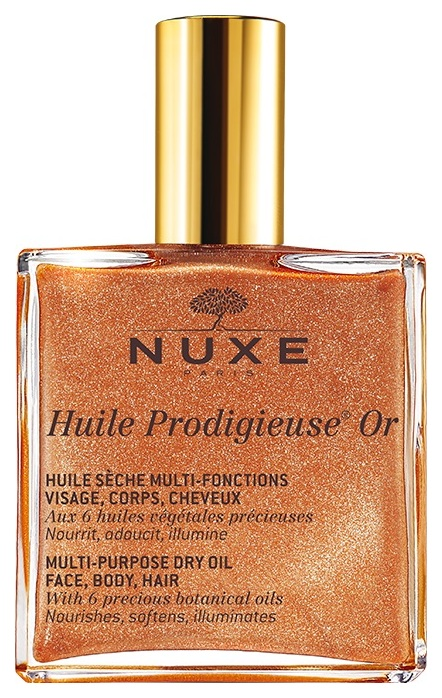 NUXE PRODIGIEUX MULTI-USAGE DRY OIL GOLDEN SHIMMER