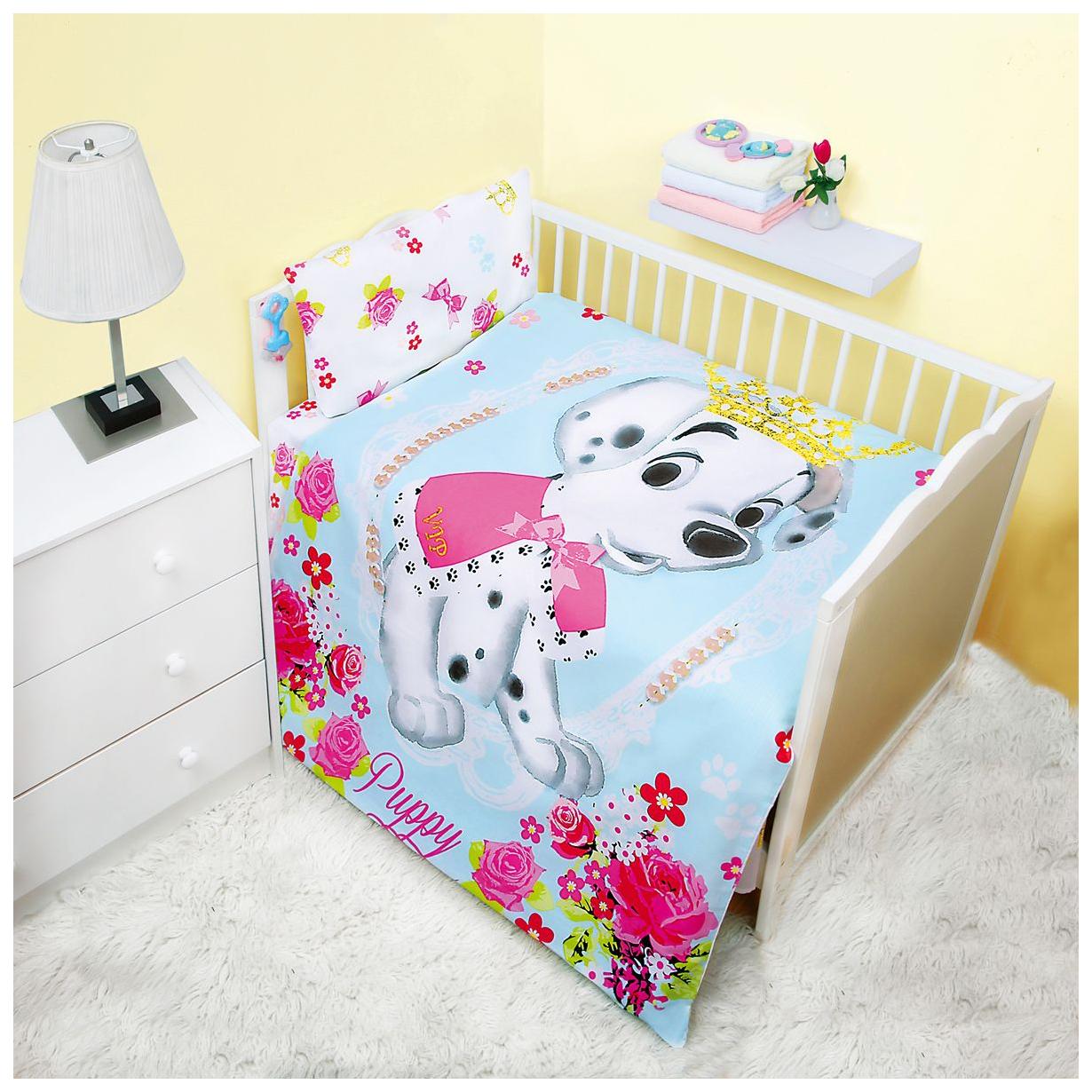 Комплект детского постельного белья MONA LIZA Далматинец Винтаж фото