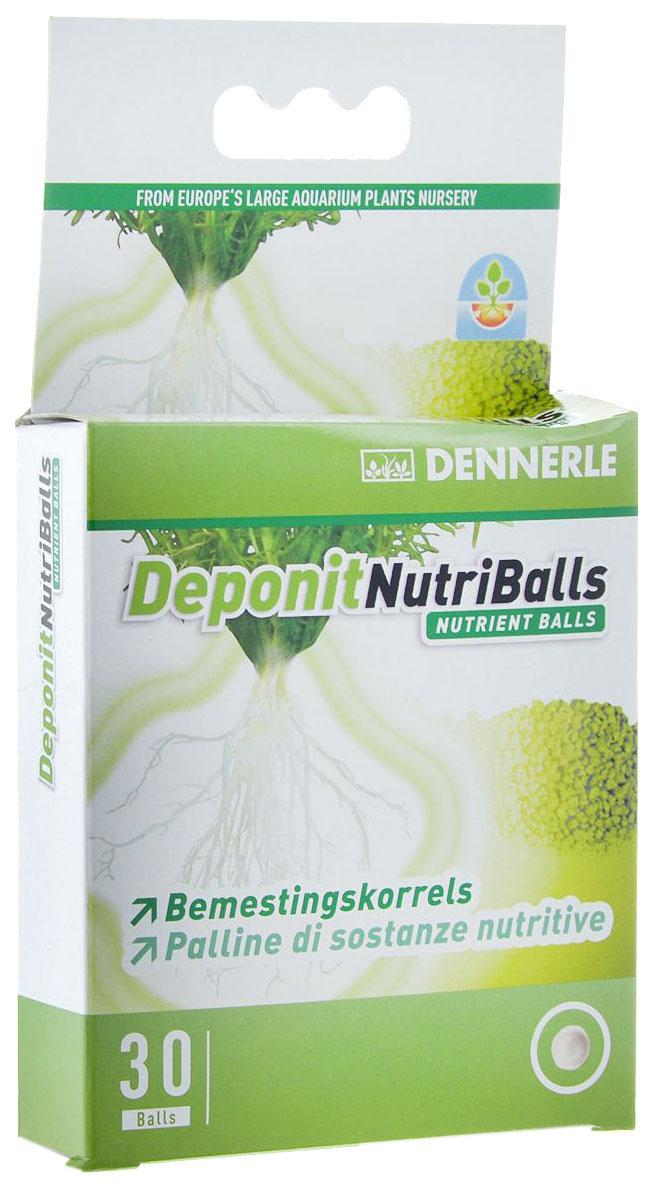 Удобрение для аквариумных растений Dennerle Deponit NutriBalls