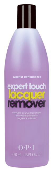 Жидкость для снятия лака OPI Expert Touch 480 мл