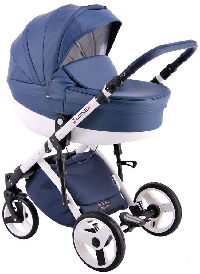 Купить Коляска 2 в 1 Lonex Comfort Special Deep blue, Детские коляски 2 в 1