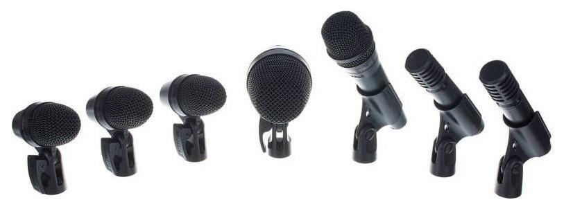 Набор микрофонов Shure PGADRUMKIT7 для ударных