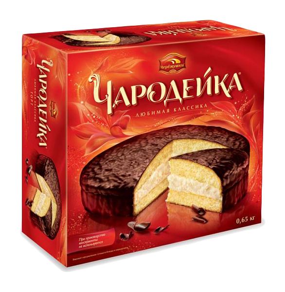 Торт Черемушки чародейка 650 г фото
