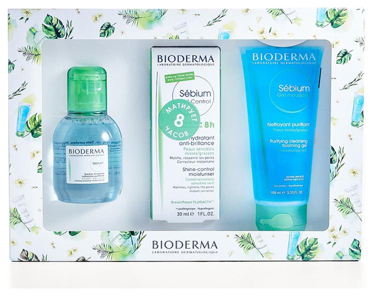 Набор косметики для лица Bioderma Себиум