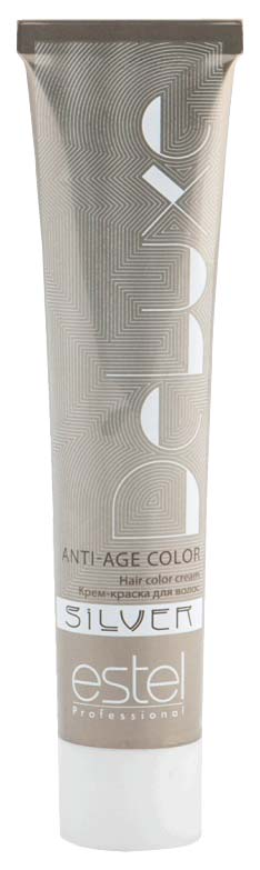 Краска для волос Estel Professional De Luxe Silver 6/5 Темно-русый красный 60 мл