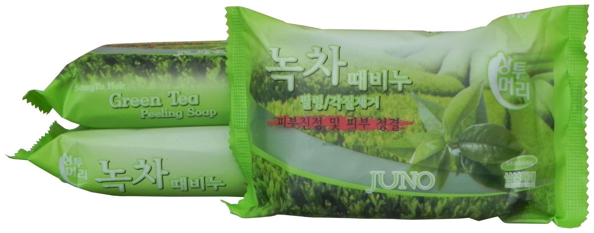 Косметическое мыло Juno С экстрактом Зеленого