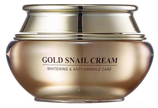 Крем для лица J&G Gold Snail Cream
