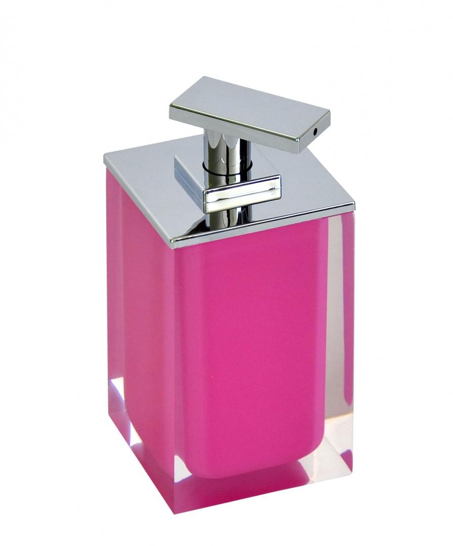 Дозатор для жидкого мыла Colours розовый