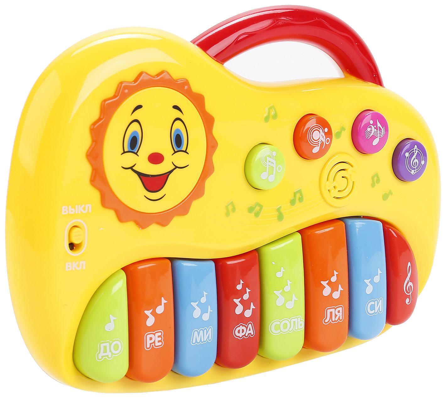 Купить Пианино игрушечное Умка Мое первое пианино B1247771-R, Детские музыкальные инструменты