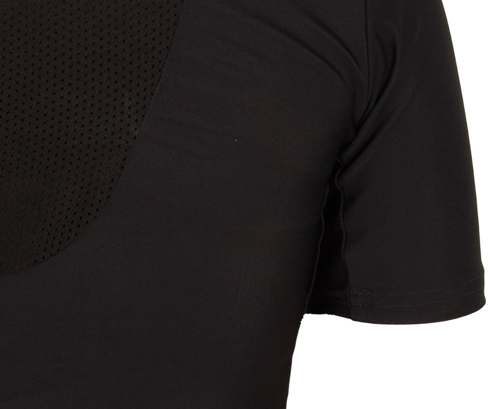 Рашгард Adidas Rush Guard Short Sleeve черная M
