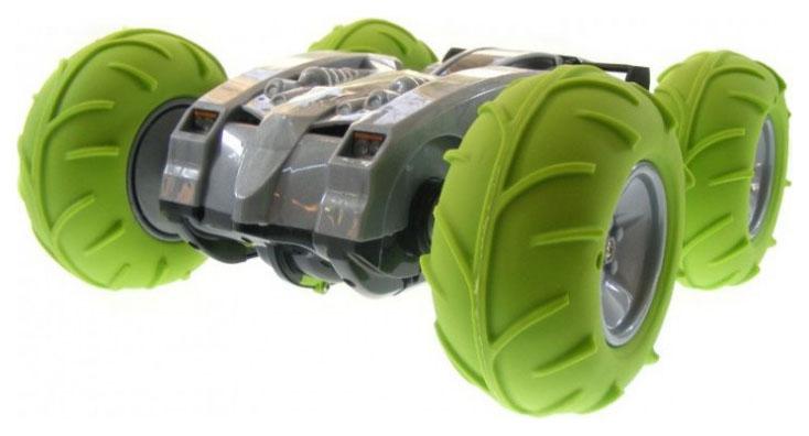 Радиоуправляемая машинка-перевертыш CS Toys A01 с пневмо колесами