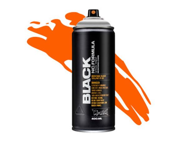 Аэрозольная краска Montana Black Infra orange 400 мл