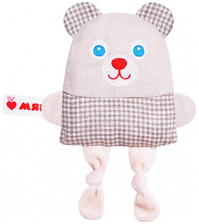 Мягкая игрушка Мякиши Крошка Мишка термо-игрушка с вишневыми косточками V022332/182