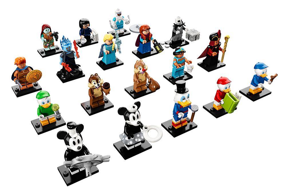 Купить 6251229 LEGO Minifigures, Конструктор LEGO Disney Минифигурки, LEGO для девочек