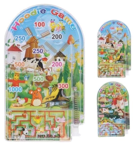 Купить Игра Пинбол и лабиринт Наша Игрушка 200357985 в ассортименте, Наша игрушка, Настольный пинбол