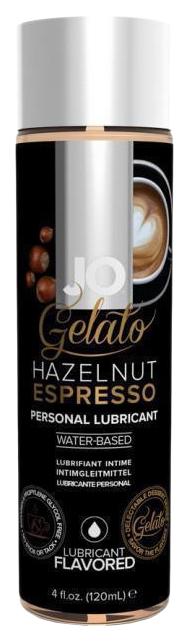 Купить Гель-смазка JO gelato ореховый эспрессо на водной основе вкусовой 120 мл, System JO