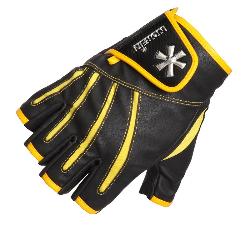 Перчатки мужские Norfin Pro Angler 5 CUT Gloves 3, черные/желтые, L Pro Angler 5 CUT Gloves 3 по цене 1 694