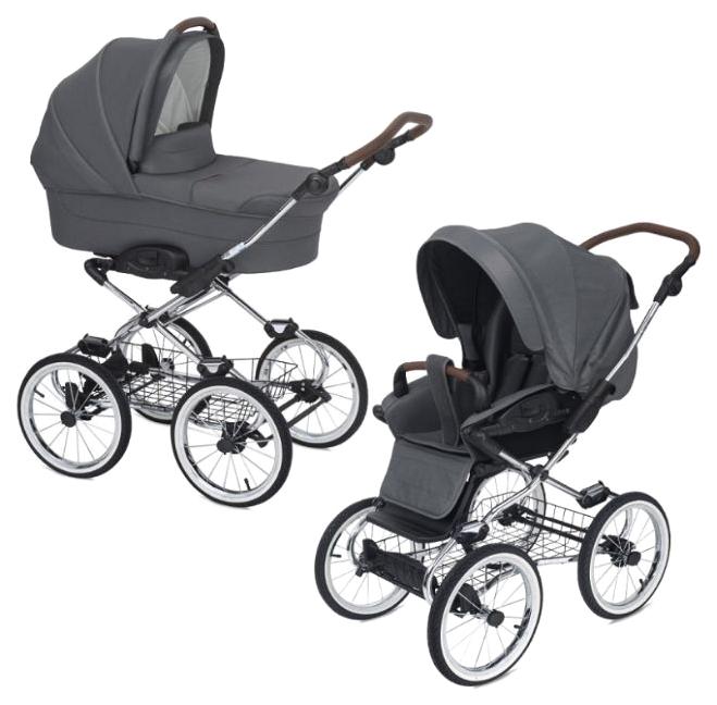 Купить Caravel 12, Коляска 2 в 1 NAVINGTON CARAVEL, колеса 12, Детские коляски 2 в 1