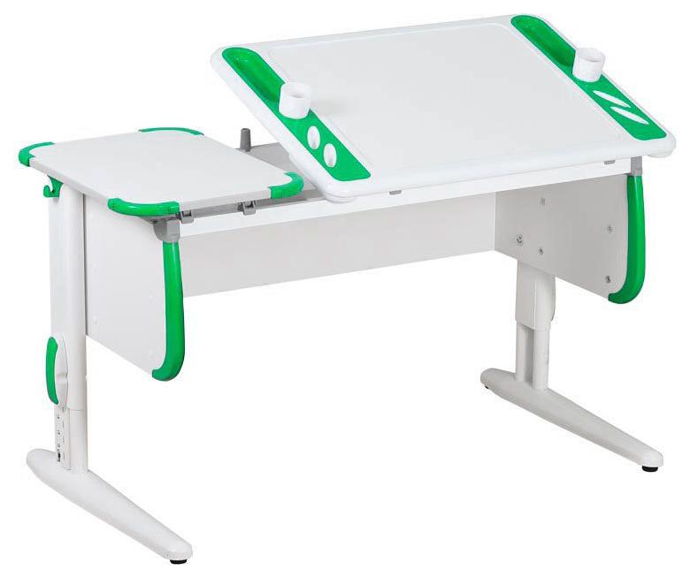 Парта Дэми Techno СУТ 31 04937-4 Белый/Зеленый
