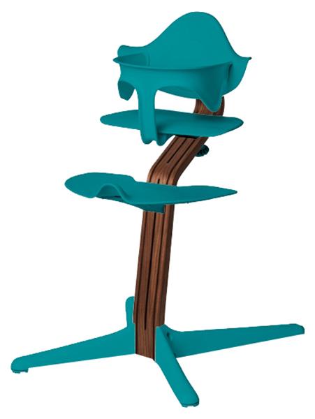 Детский регулируемый стул Evomove NOMI океан, орех