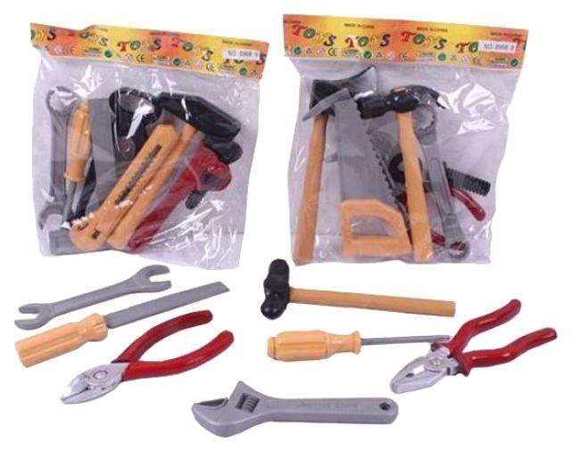 Набор игрушечных инструментов Shenzhen Toys №1, 7 предметов