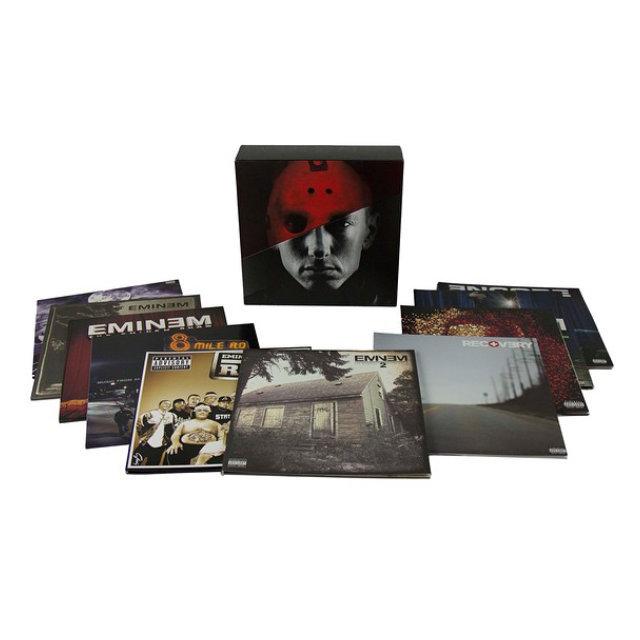 Виниловая пластинка Eminem The Vinyl LPs (20LP), Медиа  - купить со скидкой