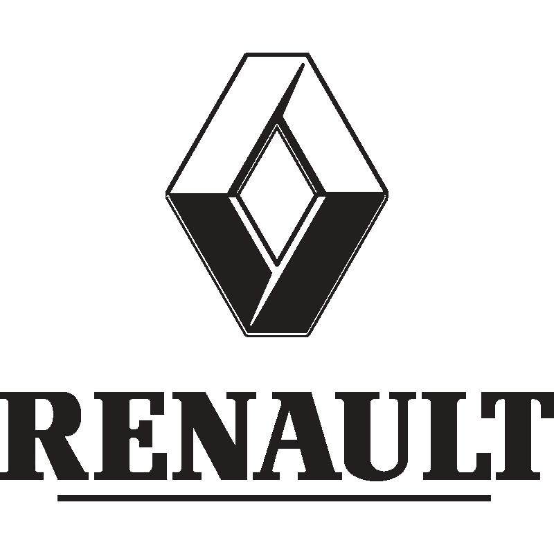 Наклейка stepway лев. RENAULT  990450188R