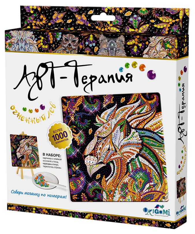 Мозаика Алмазные узоры Огненный Лев Арт-терапия 03216 Оригами