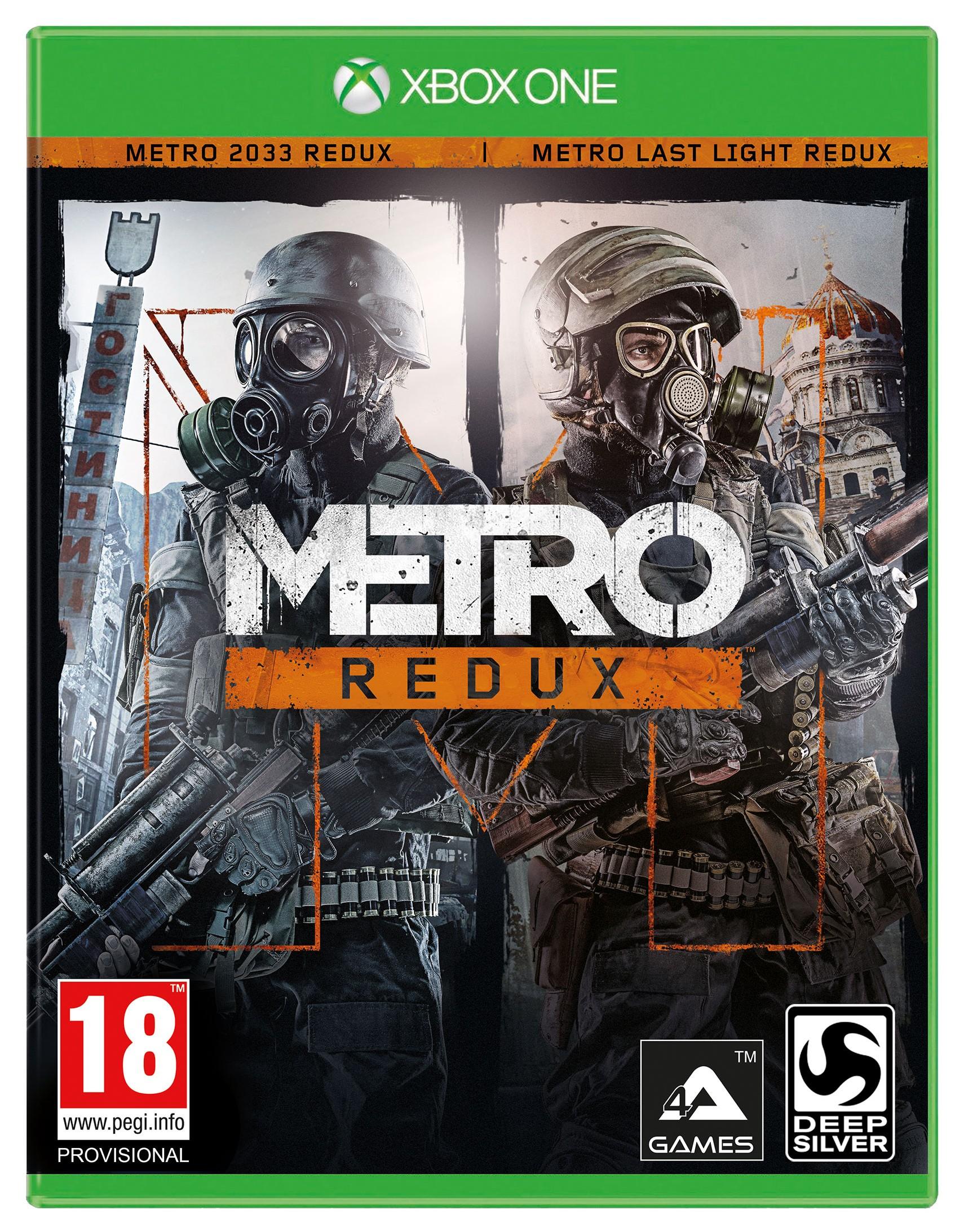 Игра Метро 2033: Возвращение для Xbox One