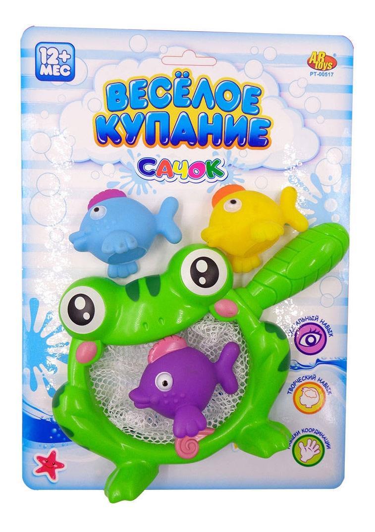 Купить Веселое купание. резиновые игрушки для ванной pt-00517(wa-c9966), ABtoys, Игрушки для купания малыша