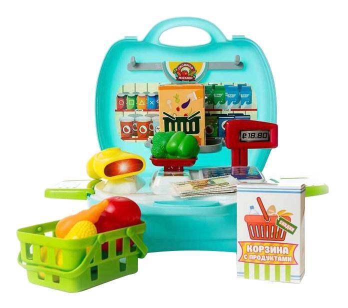 Купить Овощной магазин, Чудо-чемоданчик. овощной магазин pt-00461, ABtoys,