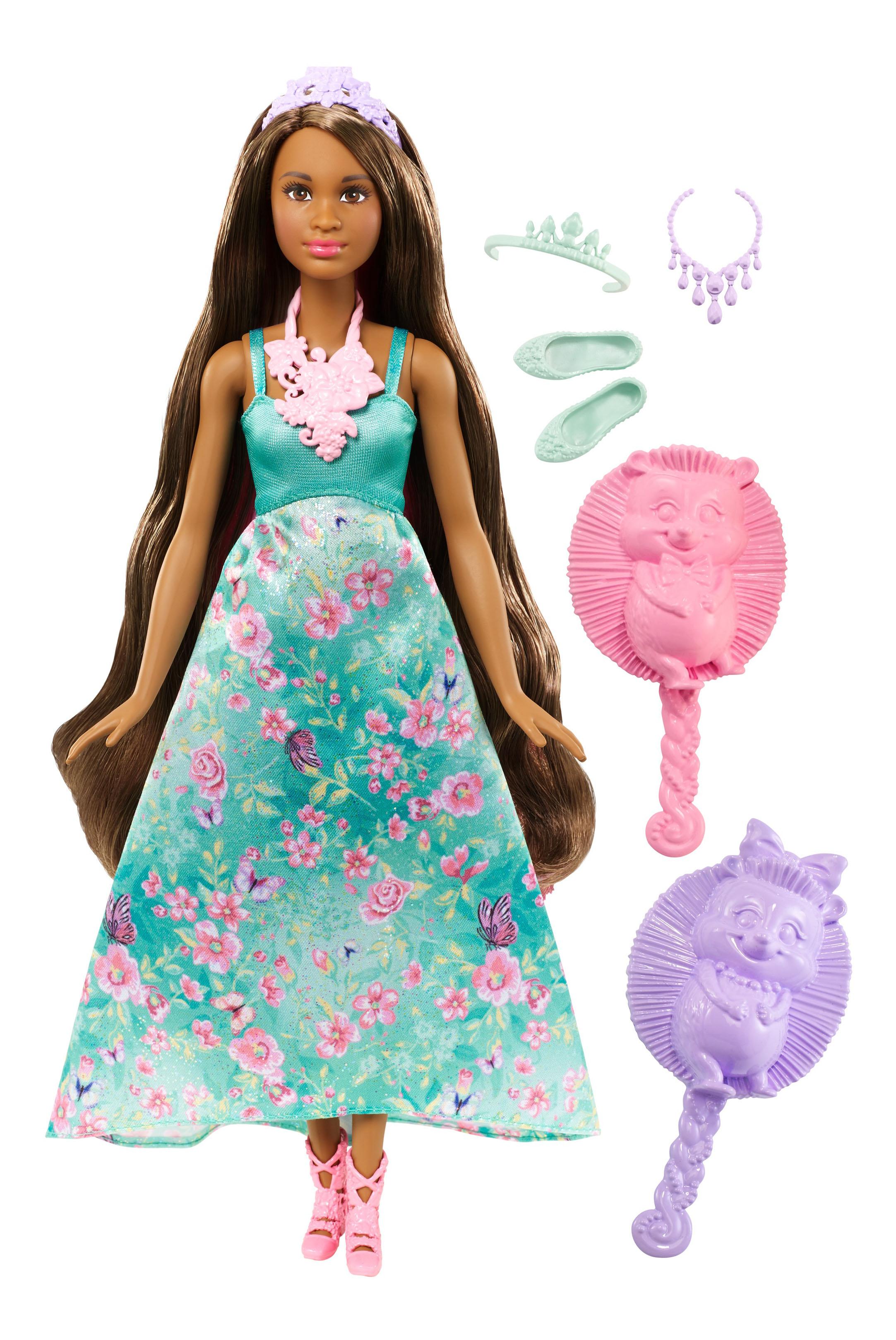 Купить Кукла Barbie Принцесса с волшебными волосами DWH41 DWH43, Куклы Barbie